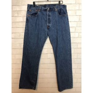 Men's Levi's 501 Jeans Button Fly 38x32